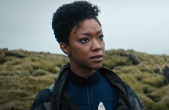 Sonequa Martin-Green in Star Trek: Discovery (CBS All Access)