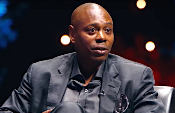 Dave Chappelle on My Next Guest Needs No Introduction with David Letterman (Netflix)