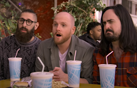 Mark Samual Bonanno, Broden Kelly, Zachary Ruane in Aunty Donna's Big Ol' House of Fun (Netflix)