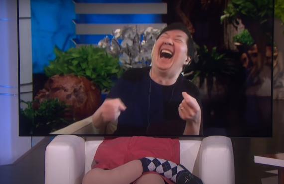 Ken Jeong on Ellen
