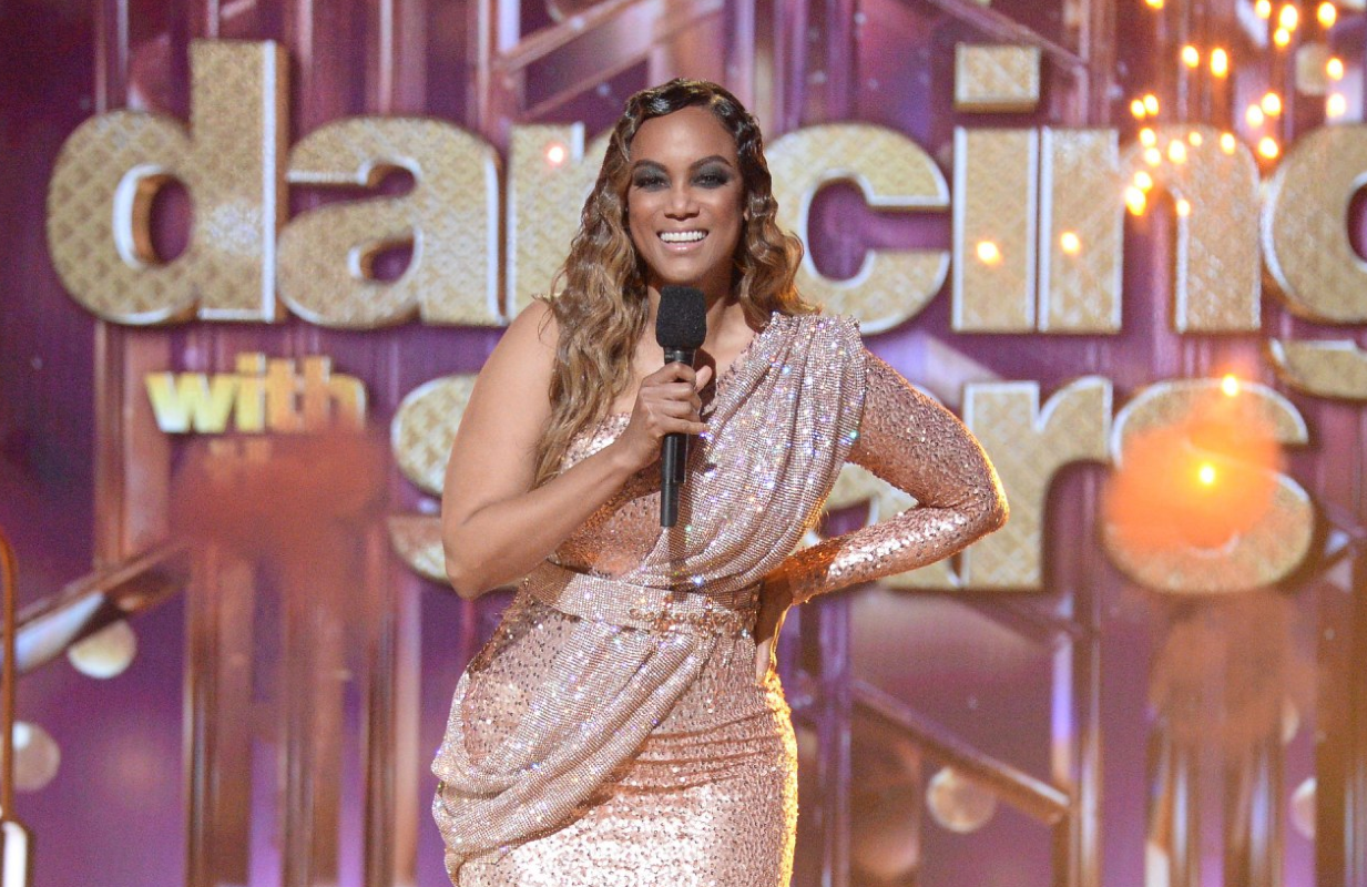 Tyra Banks hosts Dancing With the Stars. (Photo: ABC)