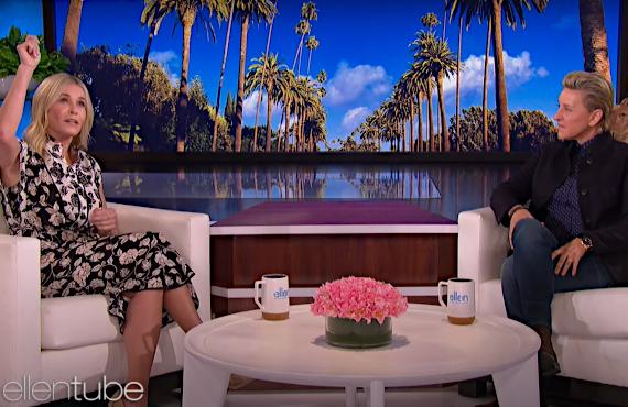 Chelsea Handler on Ellen (NBC)