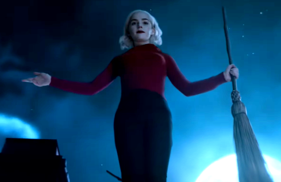 Kiernan Shipka in Chilling Adventures of Sabrina (Netflix)