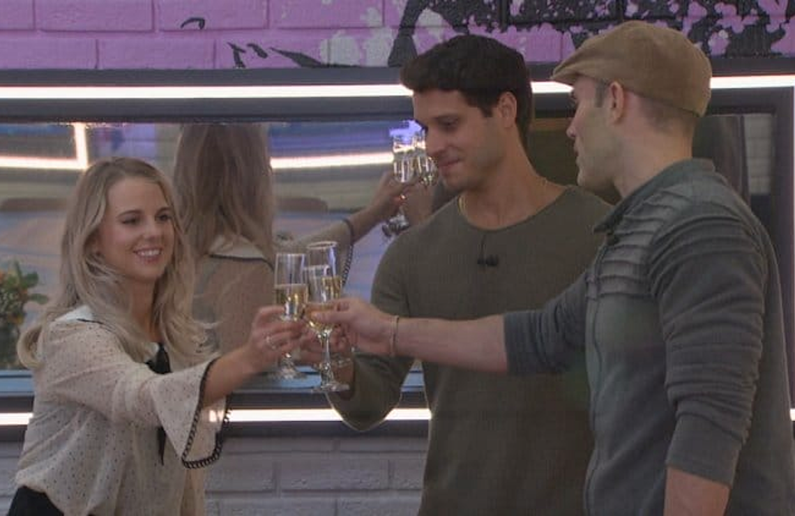 BB22's final three: Nicole Franzel, Enzo Palumbo, and Cody Calafiore. (CBS)