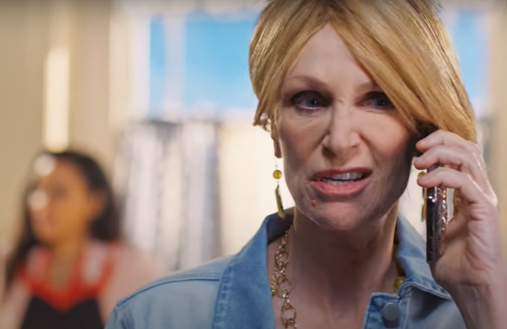 Jane Lynch on Sarah Cooper: Everything's Fine (Netflix)