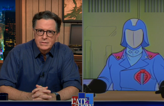 Cobra Commander on The Late Show with Stephen Colbert (CBS)