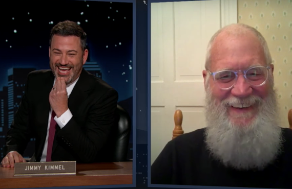 David Letterman on Jimmy Kimmel Live! (ABC)