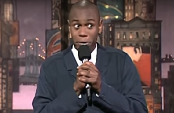 Dave Chappelle on Late Show with David Letterman (CBS)
