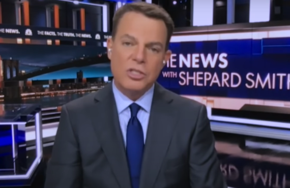 Shepard Smith on Late Night with Seth Meyers (NBC)