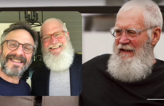 David Letterman on The Comedy Store (Showtime)