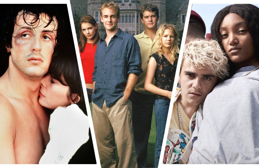 From left to right: Rocky, Dawson's Creek and We Are Who We Are.