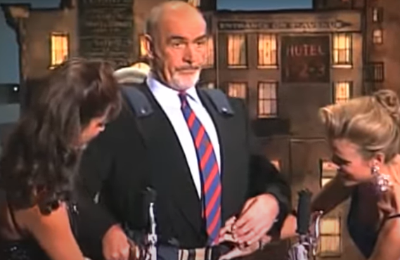 Sean Connery on The Late Show with David Letterman (CBS)