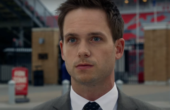 Patrick J. Adams as Mike Ross on Suits (Peacock)