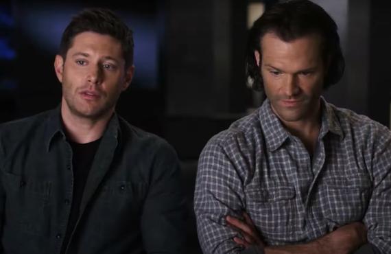 Jensen Ackles and Jared Padalecki of Supernatural (The CW)
