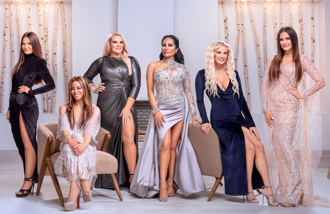 Meet The Real Housewives of Salt Lake City: Lisa Barlow, Mary Cosby, Heather Gay, Jen Shah, Whitney Rose and Meredith Marks. (Photo: Chad Kirkland/Bravo)