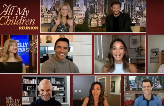 All My Children Cast Reunion on Live with Kelly and Ryan (ABC)
