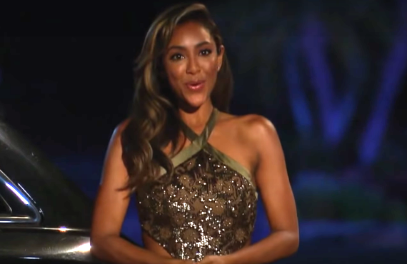 Tayshia Adams on The Bachelorette (ABC)