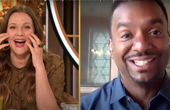 Alfonso Ribeiro on The Drew Barrymore Show