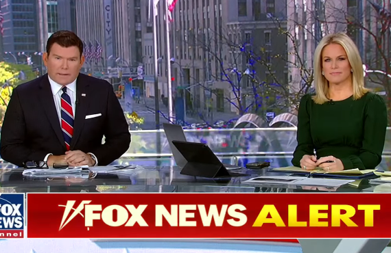 Bret Baier and Martha MacCallum on Fox News