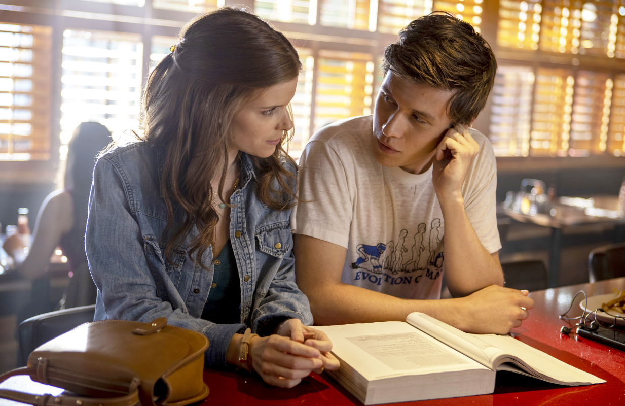 Kate Mara and Nick Robinson in A Teacher. (FX on Hulu)