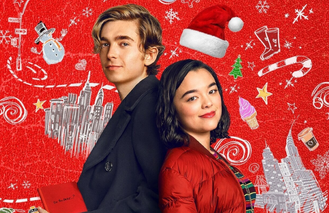 Austin Abrams and Midori Francis are Dash & Lily. (Netflix)