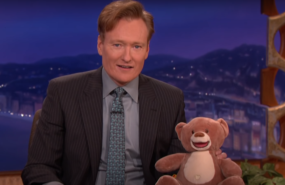 WikiBear on Conan (TBS)