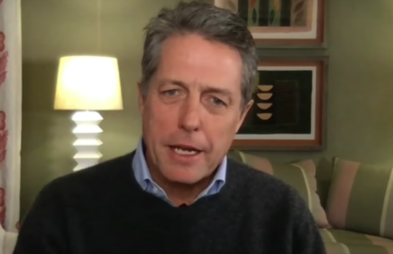 Hugh Grant on The Late Show with Stephen Colbert (CBS)