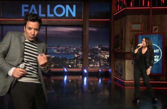 Patty Smyth on The Tonight Show Starring Jimmy Fallon (NBC)