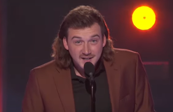Morgan Wallen on the Academy of Country Music Awards (ABC)