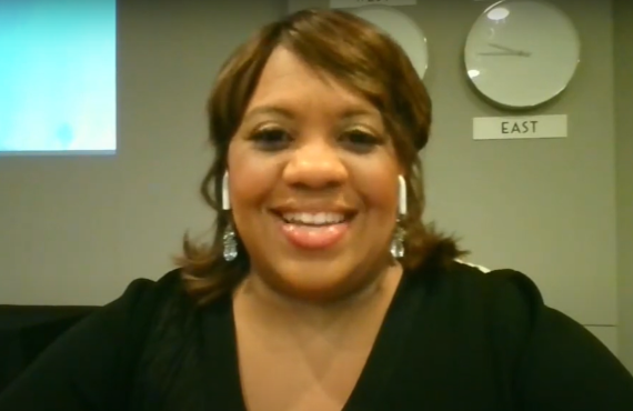 Chandra Wilson on Live with Kelly and Ryan (ABC)
