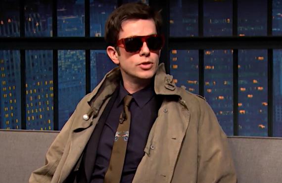 John Mulaney on Late Night with Seth Meyers (NBC)