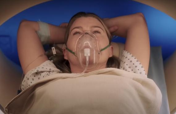 Ellen Pompeo on Grey's Anatomy (ABC)