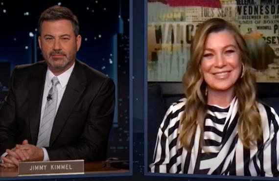 Ellen Pompeo on Jimmy Kimmel Live! (ABC)