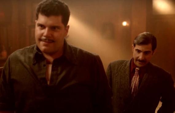 Salvatore Esposito and Jason Schwartzman in Fargo (FX)