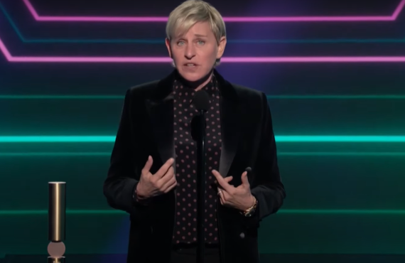 Ellen DeGeneres on E! People's Choice Awards (E!)
