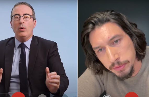 Adam Driver on Last Week Tonight with John Oliver (HBO)