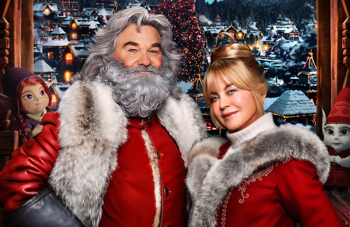 Kurt Russell and Goldie Hawn return in The Christmas Chronicles: Part 2. (Netflix)