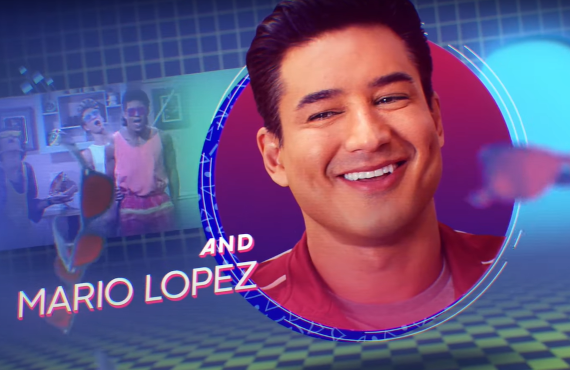 Mario Lopez of Saved By The Bell (Peacock)