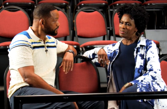 Will Smith and Janet Hubert (HBO Max)