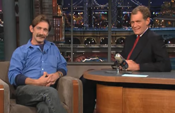 Kenny Sheehan on Late Show with David Letterman (CBS)