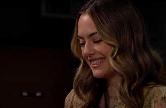 Annika Noelle on The Bold and the Beautiful (CBS)