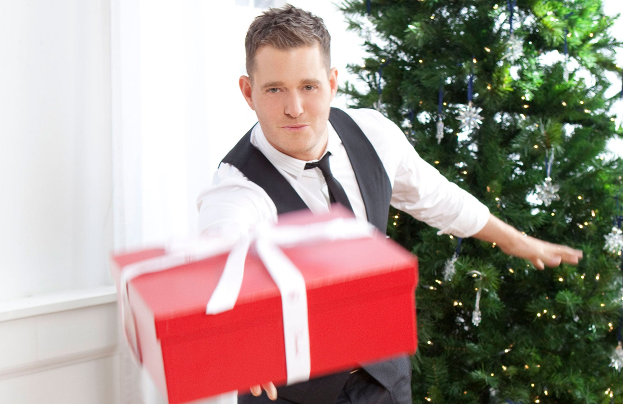 Michael Buble is among the stars participating in ABC's Disney Holiday Singalong.