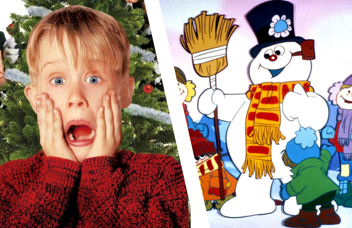 Home Alone (Freeform/Disney+) and Frosty the Snowman (CBS/Freeform)