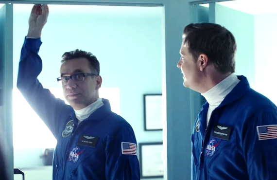 Fred Armisen in Moonbase 8 (Showtime)