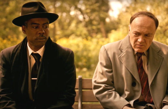Chris Rock and Francesco Acquaroli in Fargo (FX)