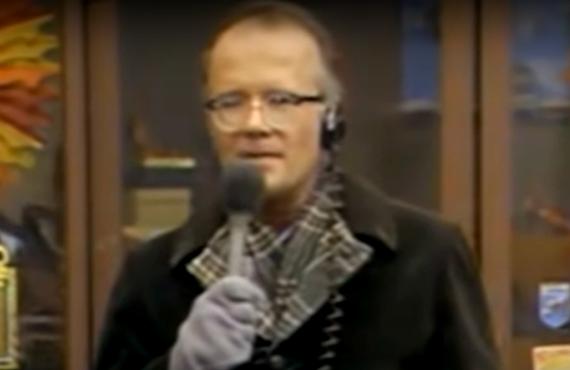 Richard Sanders as Les Nessman in WKRP in Cincinnati (CBS)