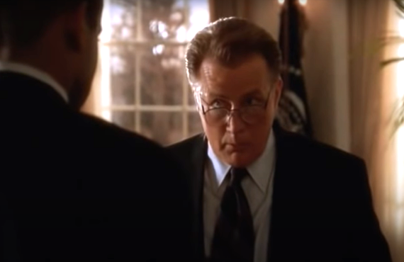 Martin Sheen on The West Wing (NBC)