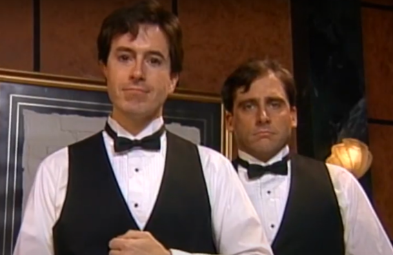 Stephen Colbert and Steve Carell on The Dana Carvey Show (ABC)