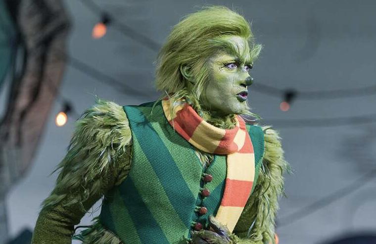 Matthew Morrison in Dr. Seuss' The Grinch Musical! (Photo: David Cotter/NBC)
