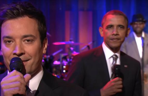 Barack Obama on Late Night with Jimmy Fallon (NBC)